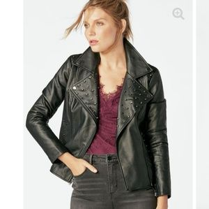 NWT! Faux Leather Jacket.